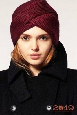 Модные шапки осень-зима 2018-2019 года