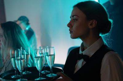 Екатерина Волкова «ослепла» на съемочной площадке